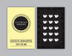 Really digging this businessloyalty card design yourstruly cafe check out this modern professional business card design for rebecca tingay design colourmoves