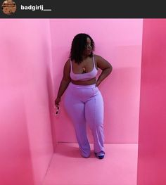 Swag Outfits For Girls, Curvy Girl Outfits, Cute Swag Outfits, Cute Comfy Outfits, Plus Size Outfits, Thick Girl Fashion, Plus Size Fashion For Women, Curvy Women Fashion, Plus Sise