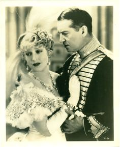 Jeanette MacDonald Maurice Chevalier The Merry Widow wearing Joseff of Hollywood jewelry Hollywood Jewelry, Jeanette Macdonald, Merry Widow, Veuve, Boogie Nights, Musical Film, Golden Age Of Hollywood, Classic Hollywood, Humphrey Bogart