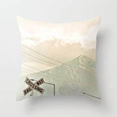 Don't Cross Me by D. Porter Throw Pillow by eclectiquexx - $20.00