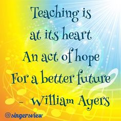 For all teachers everywhere - we foster hope! The Fosters, Acting, My Photos, Journey, Teacher, Singer, Learning, My Love, Quotes