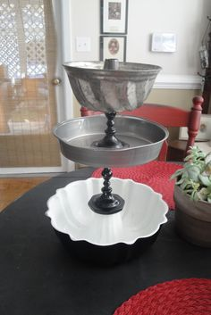 Cakeplates and Candlesticks