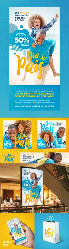 Key Visual para a campanha de dia dos pais. - Tap the link to shop on our official online store! You can also join our affiliate and/or rewards programs for FREE! Design Poster, Ad Design, Flyer Design, Layout Design, Print Design, Corporate Id, Ecommerce, Promotional Design, Social Media Design