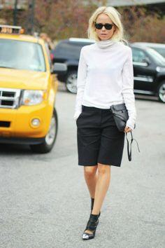 Moda per principianti: Bermuda da donna?