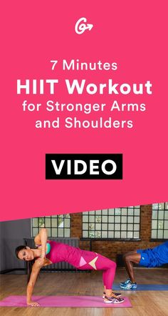 This way to the gun show.  #greatist http://greatist.com/move/7-minute-hiit-workout-stronger-arms-and-shoulders