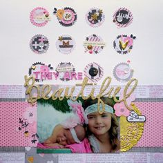 The Studio Challenges: 10th May - Pink, Black and Gold