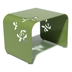 Flight Side Table Leaf Green now featured on Fab.
