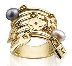 Louis Vuitton Charm Ring