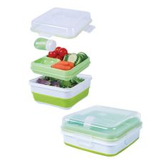 Cool Gear EZ Freeze Collapsible Salad Container - 1487 | Everything Kitchens