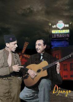 Fred Astaire & Django Reinhardt, Paris, 1944