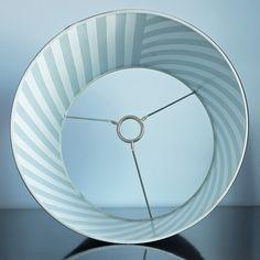 Quick update: Washi Tape Lined Lampshade #DIY #washitape