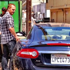 photo of Chris O'Donnell Jaguar - car