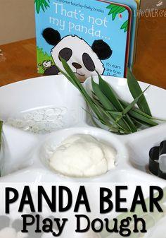 Have fun reading this SUPER cute panda book, then play with some panda play dough! Except pandas aren't bears! Panda Activities, Playdough Activities, Activities For Kids, Letter Activities, Preschool Themes, Preschool Ideas, Preschool Crafts, Kids Crafts, Craft Ideas