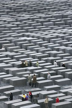 Visit as many holocaust memorials and camps that I can. Holocaust Memorial, Berlin