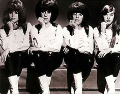 Formed at Andrew Jackson High School in Queens, NYC, in 1963, the Shangri-Las were two sets of sisters, Mary and Betty Weiss and Marge and Mary Ann Ganser.