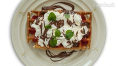 Ihnačák varí Waffle - Vafle - národné jedlo Belgicka (videorecept) - Recept Pancakes, Treats, Breakfast, Sweet, Basket, Sweet Like Candy, Morning Coffee, Candy, Goodies