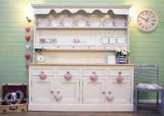 Welsh Dresser Painted In Farrow Ball Slipper Satin No 2004 Estate Eggshell The
