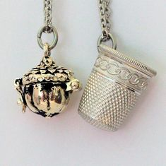 Wendy gave Peter Pan a thimble to represent her kiss to him, Peter Pan gave Wendy an acorn button as a kiss in return. Each wore the symbol of love