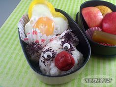 A red-nosed panda :) Bento Box, Cute Food, Acai Bowl, Panda, Boxes, Cooking, Breakfast, Red, Acai Berry Bowl