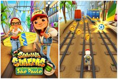 Download Subway Surfers Sau Paulo for Android and get unlimited coins