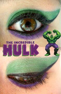 The Hulk Makeup by Steffmiesterx13.deviantart.com on @deviantART