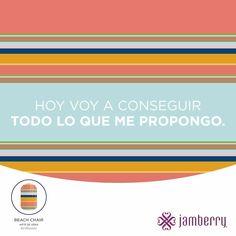 Hay que tomar acción para lograr nuestras metas.  #jamberrylatina #jamberrypuertorico