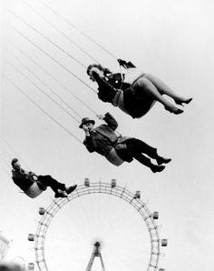 """Henri Wolf-Vienna Ferris Wheel from Orson Welles """"The Third Man"""", 1957."""