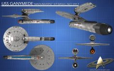 USS NCC 18451 Starship Ganymede from Star Trek XI