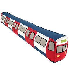 Buy John Lewis Underground Draught Excluder Train online at JohnLewis.com - John Lewis