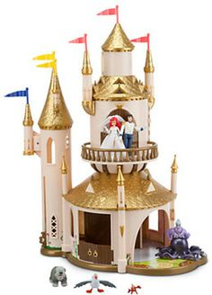 The Little Mermaid - Prince Eric's Castle Play Set on shopstyle.com
