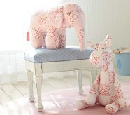 Adorable patchwork stuffed animals from Pottery Barn!