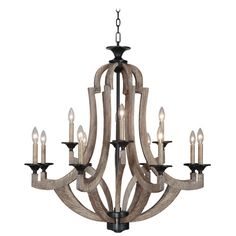 Found it at Wayfair - Winton 12 Light Candle Chandelier