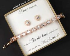 Rose Gold Bridesmaid Jewelry oval Crystal Bridal Bracelet Wedding Jewelry Bracelet silver Wedding Bracelet mother of the bride groom gift