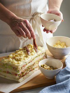 Tortas Sandwich, Tuna Pie, Brunch, Pan Dulce, Wrap Sandwiches, Savoury Cake, Sin Gluten, Finger Foods, Appetizer Recipes