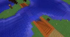 Building a bridge was too easy #minecraft #pcgames
