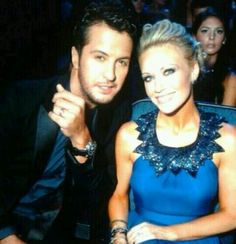 Luke and Caroline Bryan Country Singers, Country Music, Luke Bryan Family, Caroline Bryan, Luke Bryan Concert, Shake It For Me, Entertainer Of The Year, Country Boys, Country Strong