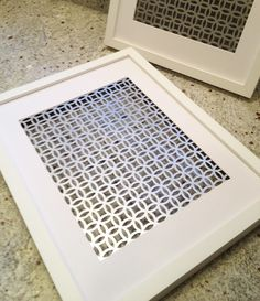 Radiator screen from Home Depot More