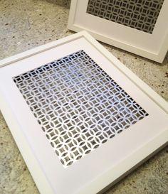 Diy Decorative Vent Cover Home Pinterest Home Decor