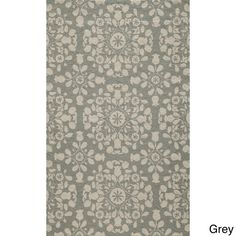 Uzbek Exhale Indoor Rugs (5' x 8') - Overstock Shopping - Great Deals on 5x8 - 6x9 Rugs