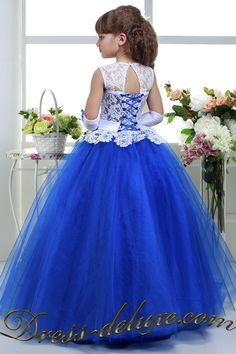 Details about Flower Girls Princess Dress Kids Party Wedding Pageant Ball Gown Prom Bridesmaid Princess Flower Girl Dresses, Tulle Flower Girl, Princess Dress Kids, Girls White Dress, Flower Girls, Pageant Dresses For Teens, Gowns For Girls, Frocks For Girls, Girls Dresses