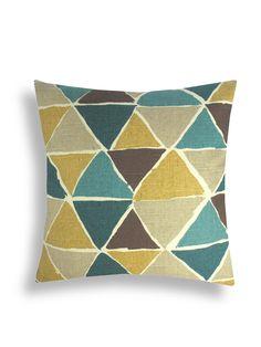 Modern Jewel Pillow - Gilt Home