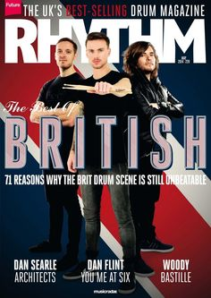 #Rhythm  228. The best of british - 71 reasons why the Brit drum scene is still unbeatable. And much more...