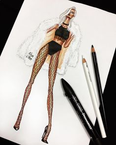 Rosamaria G Frangini | ART Fashion Drawing | Instagram