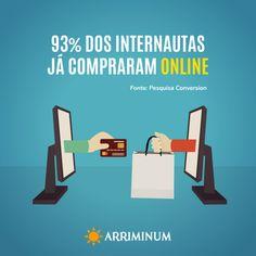 93% dos internautas brasileiros já compraram online