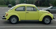 73 Super Beetle - I had this same VW but in yellow as a young adult.