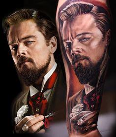 "Leonardo in ""Django Unchained"""