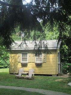 Relaxshacks.com: THE BEECH TREE COTTAGES (a tiny house/cottage compound) in Madison, CT