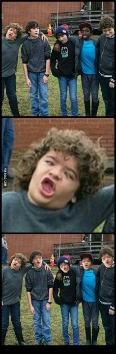 I don't know it's just stranger things memes XD # Humor # amreading # books . - Best of Memes Stranger Things Actors, Stranger Things Have Happened, Stranger Things Aesthetic, Stranger Things Funny, Stranger Things Netflix, Video Hilarante, Minion Meme, Saints Memes, Funny Jokes