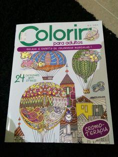 Colorir para adultos num 3 da Edigrama