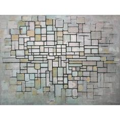 Piet Mondriaan - Composition No 11